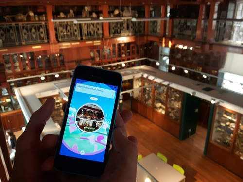 The Grant Museum's Pokestop